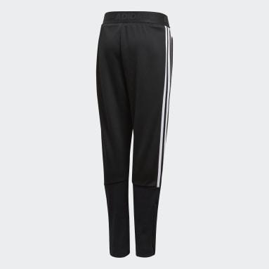 Pants Tiro - Corte Medio Negro Niño Training