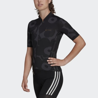 Maillot de cyclisme Marimekko Graphic Gris Femmes Cyclisme