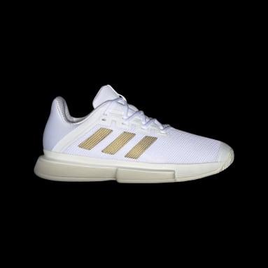 Men Tennis White SoleMatch Bounce Tokyo Tennis Shoes