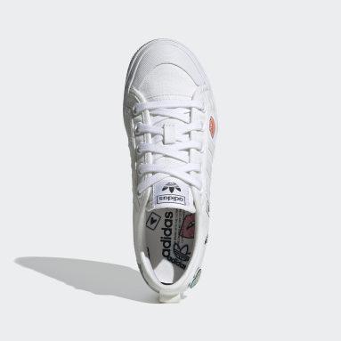 Kids Originals White Nizza Platform Shoes
