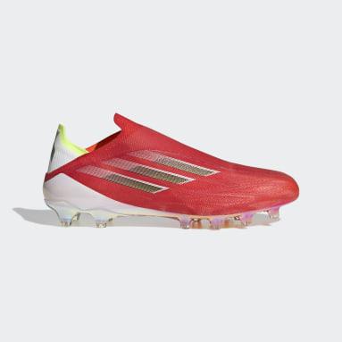 Soccer Red X Speedflow+ Artificial Grass Cleats