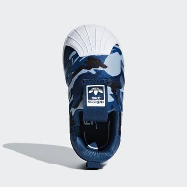 синий Кроссовки Superstar 360