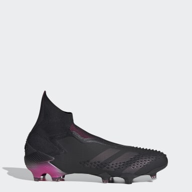 Women Football Black Predator Mutator 20+ Firm Ground Boots