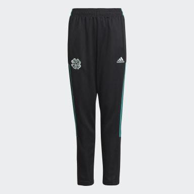 Barn Fotboll Svart Celtic FC Tiro Track Pants