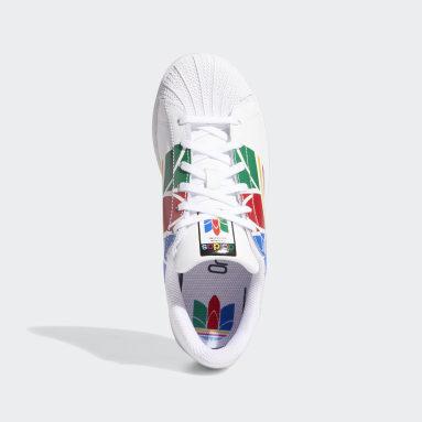 Tenis Superstar Pure (UNISEX) Blanco Niño Originals