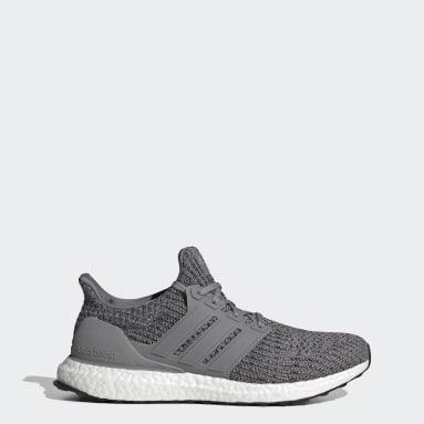 Men Sportswear Grey Ultraboost 4.0 DNA Shoes