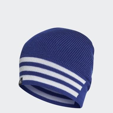 Fitness En Training Blauw 3-Stripes Muts