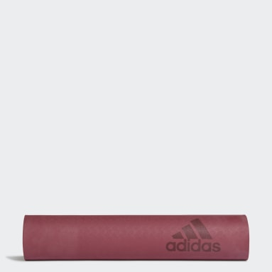 Premium Yoga Mat 5 mm Bordowy