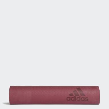 Tapis de yoga Premium 5mm Bordeaux Studio