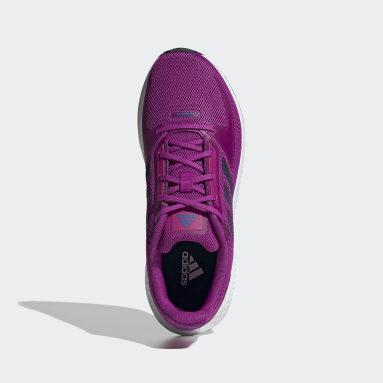 Tenis Run Falcon 2.0 Rosa Mujer Running