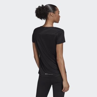 T-shirt Berlin Marathon Finisher Nero Donna Running