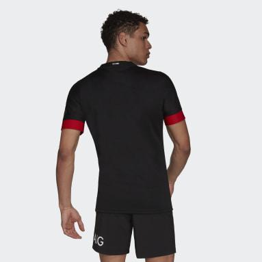 Maglia Replica Maori All Blacks Nero Uomo Rugby