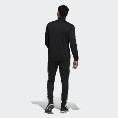 Erkek Sportswear Siyah adidas Sportswear Tapered Eşofman Takımı