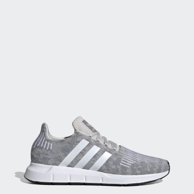 Men Originals Grey Swift Run Shoes