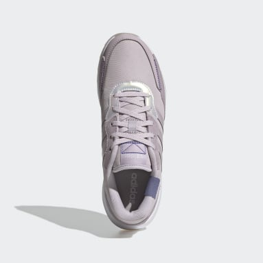 Women's Essentials Purple Retrorun Shoes