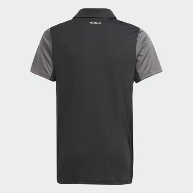 черный Футболка-поло для тенниса Club