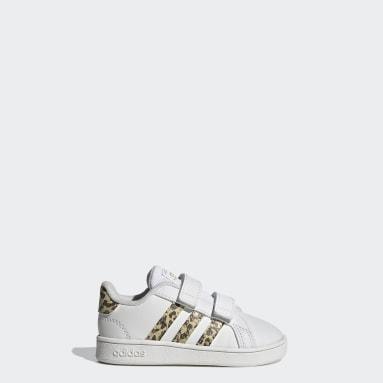 Chaussure Grand Court Blanc Enfants Sportswear