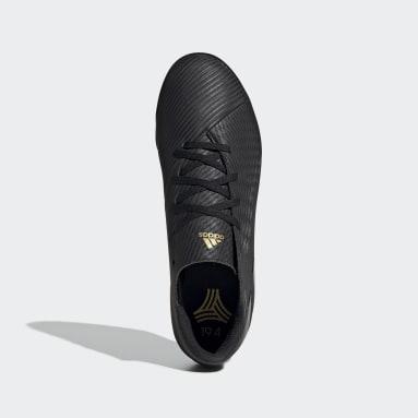 Calzado de Fútbol Nemeziz 19.4 Césped Artificial Negro Hombre Fútbol