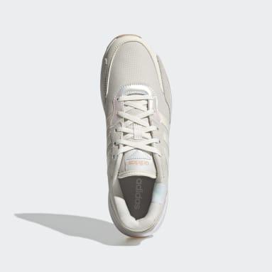 Women's Essentials White Retrorun Shoes