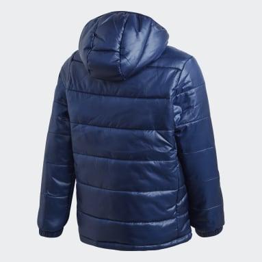 Chaqueta con capucha Padded Azul Niño Gimnasio Y Entrenamiento
