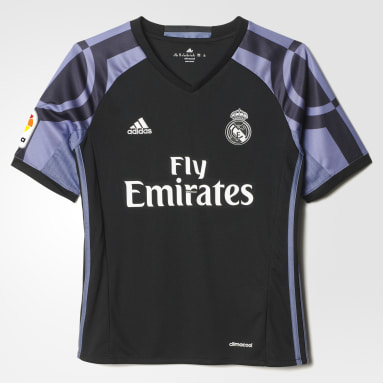 REAL 3 JSY Y Negro Niño Fútbol