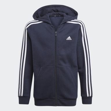 синий Толстовка Essentials 3-Stripes