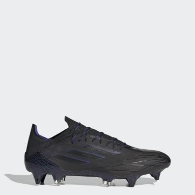 Chaussure X Speedflow.1 Terrain gras Noir Football