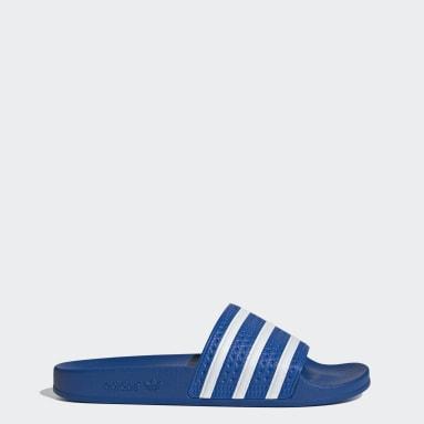 adilette Sandaler Blå
