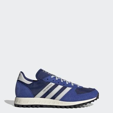 Men Originals Blue adidas TRX Vintage Shoes