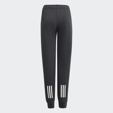 Pantalon XFG Zip Pocket Slim-Leg Gris Garçons Fitness Et Training