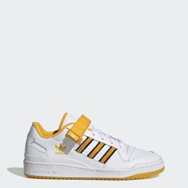 Men's Originals White Forum Low City Shoes