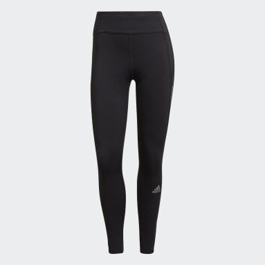 Legging 7/8 Own The Run Running Noir Femmes HIIT