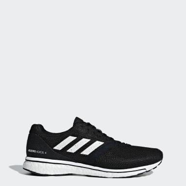 Men Running Black Adizero Adios 4 Shoes