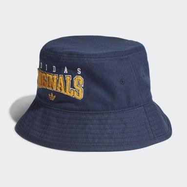 Gorro Bucket Azul Originals