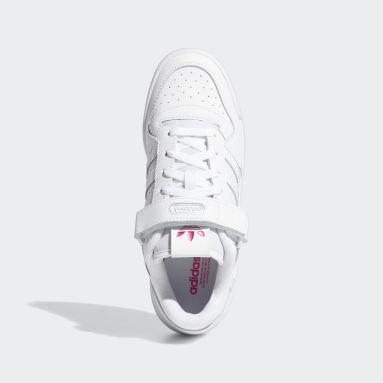 Women's Originals White Forum Low Shoes