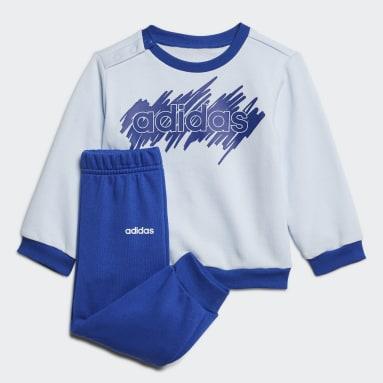 Conjunto Linear French Terry Azul Niño Sportswear