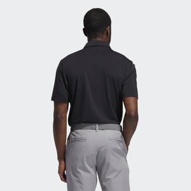 Men's Golf Black Ultimate365 Solid Polo Shirt