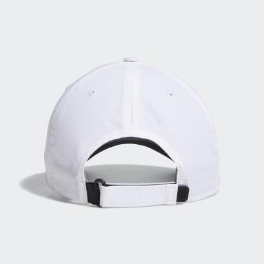 Men Golf White Performance Cap
