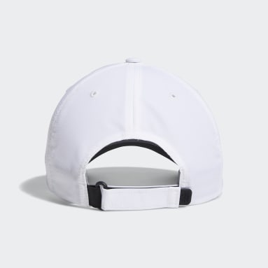 Männer Golf Performance Kappe Weiß