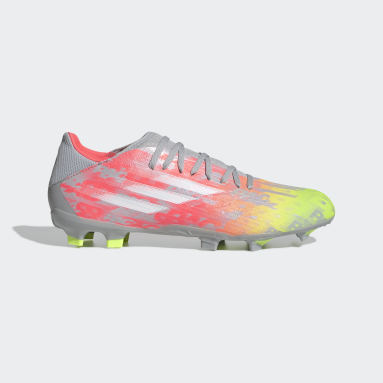 Guayos X Speedflow.3 Terreno Firme Gris Fútbol