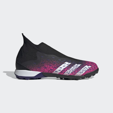 Zapatos de fútbol Predator Freak.3 Sin Cordones Pasto Sintético Negro Hombre Fútbol