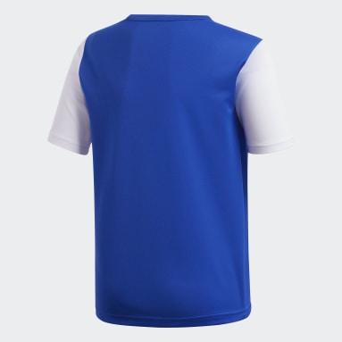 Boys Football Blue Estro 19 Jersey