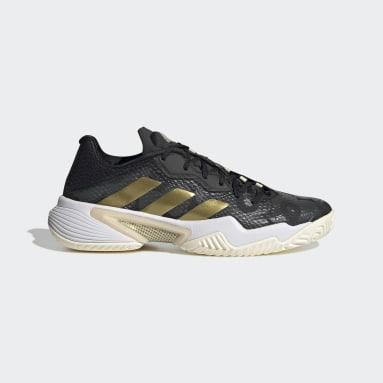 Women's Tennis Black Barricade Shoes