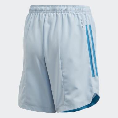 Short Condivo 20 Primeblue Bleu Enfants Fitness Et Training