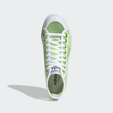 Women Originals Green Nizza Hi Jelly Shoes