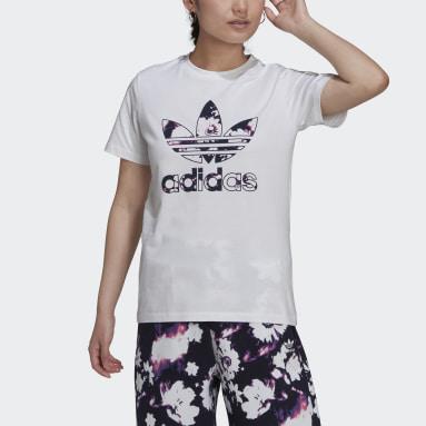 Kvinder Originals Hvid T-shirt