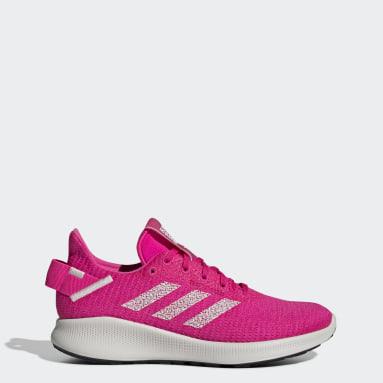 Tenis Sensebounce+ Street Rosa Mujer Running