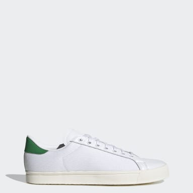 Chaussure Rod Laver Vintage blanc Originals