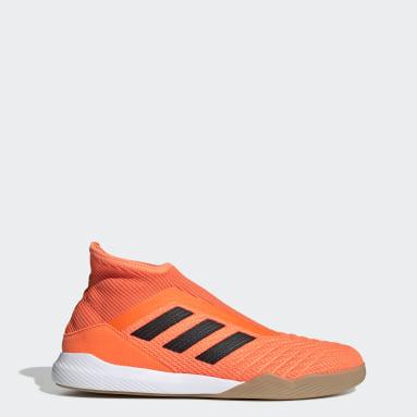 Calzado de Fútbol Predator 19.3 Naranja Hombre Fútbol