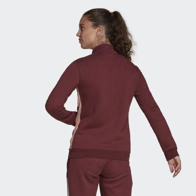Women's Soccer Burgundy Tiro Winterized Jacket
